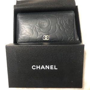 Chanel Camellia Bifold Wallet